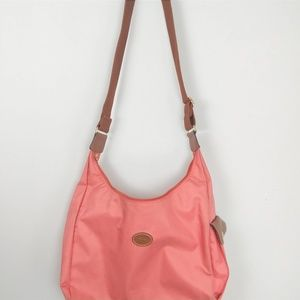 Longchamp Le Pliage Nylon Pink Crossbody Bag